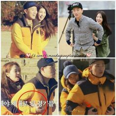 Only JiHyo he hold tight    Via FB @ running man fans page