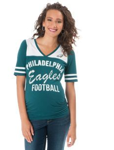 bf089bc23ccfe ... coupon for destination maternity philadelphia eagles nfl maternity t  shirt f0a03 78049