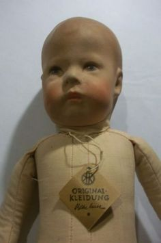 Artist-Choice-16-5-Vintage-Original-Cloth-Kathe-Kruse-Wide-Hip-1900-1912-Doll