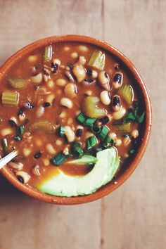Meatless Black Eyed Pea Soup