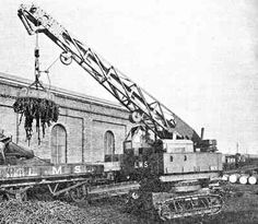 Coles had tried petrol electric with the Tilling, and the Ransoms cranes were petrol electric, for none rail mobile crane is was a much more flexible system. Description from homepage.ntlworld.com. I searched for this on bing.com/images Sunderland, Heavy Equipment, Crane, Old School, Old Things, Electric, Product Description, History, Model