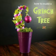 How to make a Grinch Tree (2)
