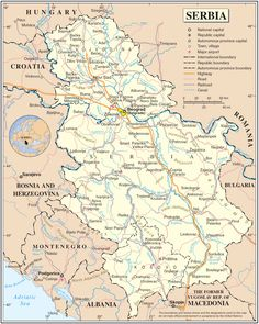 Serbia Map Where to go in Thailand http://www.phuketon.com