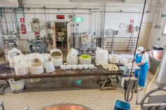 "Inside a Parmigiano-Reggiano dairy in Parma, Italy - ""Visiting a Parmigiano-Reggiano Cheese Maker in Italy"" by @traveleraddicts"