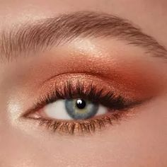 Shop Luxury Eyeshadow Palette in Dreamgasm to create mesmerising rose gold eyeshadow looks. Discover our eyeshadow quad and more eye makeup online. Makeup Eye Looks, Eye Makeup Art, Eyeshadow Looks, Pretty Makeup, Skin Makeup, Eyeshadow Makeup, Eyeshadow Palette, Golden Eye Makeup, Glow Makeup