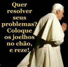 O Senhor tem a solução para os nossos problemas!