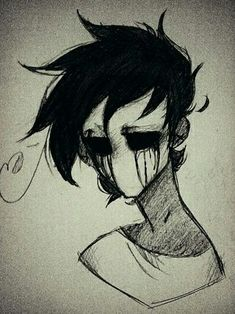Pin by r-p grade on eyeless jack proxies for luana franchise in 2019 cr Creepy Drawings, Dark Art Drawings, Creepy Art, Pencil Art Drawings, Art Drawings Sketches, Cool Drawings, Drawing Drawing, Emo Kunst, Arte Emo