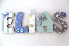 lettres en bois prénom enfant