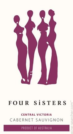 Four Sisters wine label! Love it.