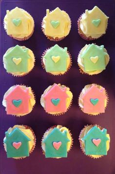 Moving House ~ New Home Pastel Cupcakes