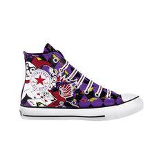 Converse All Star Hi Harley Quinn Athletic Shoe - Purple    I want!