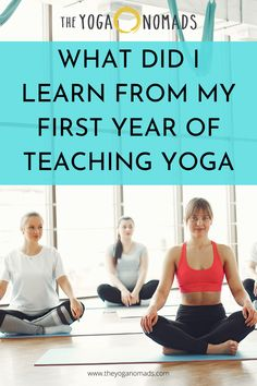 Sharing you the things that you will learn on your first yoga teaching. Iyengar Yoga, Ashtanga Yoga, Pilates Reformer Exercises, Pilates Yoga, My First Teacher, Yoga Breathing, My First Year, Vinyasa Yoga, Yoga For Men
