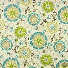 Swavelle Sislo Franco Outdoor Fabric - Eucalyptus