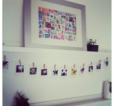 Chic #Printstagram clothesline display by @Kate English