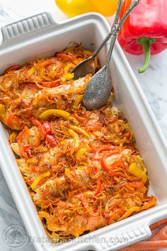 You have to try this fish casserole! It tastes healthy and light. The fish is juicy and flaky without a hint of fishiness and the sweet veggies complement the savory fish beautifully. Baked Tilapia Recipes, Healthy Tilapia, Baked Fish, Fish Recipes, Seafood Recipes, Cooking Recipes, Walleye Recipes, Fish Casserole, Healthy Snack Foods