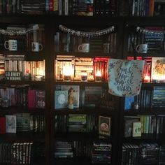Goals goals goals. | 24 Bookshelves That Will Mildly Arouse Any Book Lover