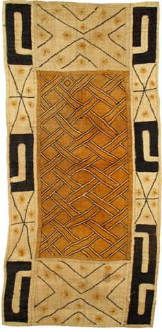 The African Fabric Shop : Kuba cloth from Congo
