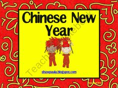 Chinese New Year product from Paulas-Place on TeachersNotebook.com