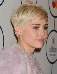 La coupe pixie de Miley Cyrus