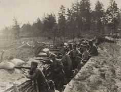 Polish Legions in the trenches of the styrene in 1916. (ANK, Ref. 29/670 / A-II-1203)