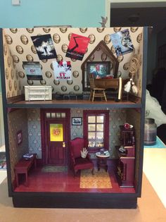 Inside my SK miniature house.Stacy Thibeault | Stephen ...