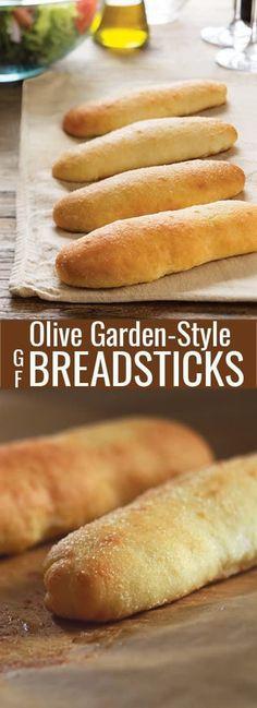 Soft Gluten Free Breadsticks