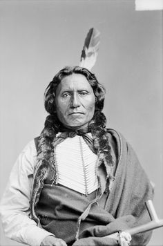 """thebigkelu: """"White Cloud or White Thunder, Dakota Brulé, in Partial Native Dress with Breastplate and Holding Pipe - Bell - 1880 """" Native American Pictures, Native American Beauty, Native American Tribes, Native American History, American Indians, Native Americans, American Art, American Quotes, American Symbols"""