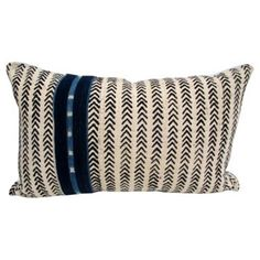 Check out this item at One Kings Lane! African Natural Mud Cloth Pillow