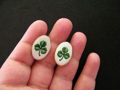 Vintage 1970s St. Patrick's Day Porcelain by DaisyDiamondVintage, $24.00