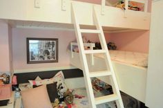 s give your kids the coolest bedrooms with these 13 jaw dropping ideas, bedroom ideas, This unbelievable triple bunk bed