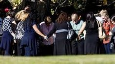 San Bernardino Yesterday the chaos in our country took another turn. We stayedglued to the news, shocked at the tragic event in San Bernardino, a city with little or no connection to most. Tonight the victims of the tragedy were revealed, names and faces followed bystories of wives, partners