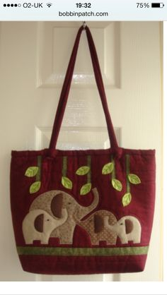 Been to the knitting and stitching show. Loved this bag.