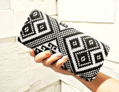 Hmong Wallet Cluth Purse with Vintage Hand Woven by TribalThaiShop, $14.50