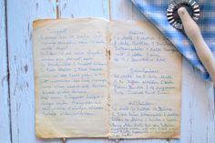 Das alte Kochbuch von meiner Omi - mein Schatz! Die Rezepte verwende ich noch immer gerne.
