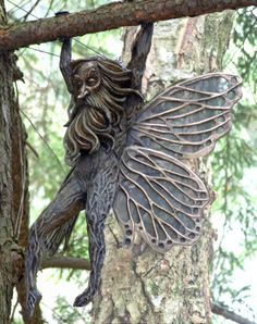 Grandpa Fairy:  Deran Wright Bronze - Mythology