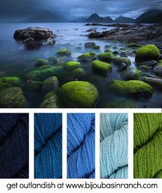 Indie Untangled Newsletter featuring Outlandish yarns from Bijou Basin Ranch!