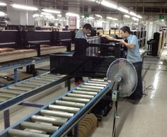 Take a tour of a piano factory