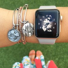 "522 Likes, 22 Comments - XOXO, Disney Girl (@disneygirlbeauty) on Instagram: ""It's Disney time! ✨ . . I love that the Apple Watch has magical mickey and minnie faces - and…"""