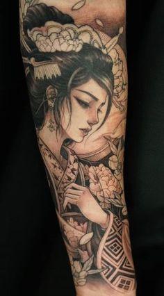 Outfits – 25 Casual And Cute Summer Outfits Ideas to Inspire You : Tatuajes Antebrazo Geisha Tattoos, Geisha Tattoo Sleeve, Tatoo Geisha, Japanese Geisha Tattoo, Geisha Tattoo Design, Irezumi Tattoos, Japanese Sleeve Tattoos, Best Sleeve Tattoos, Forearm Tattoos