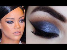 Rihanna Makeup Tutorial - Maquiagem Com Formato Diferente #diferentona