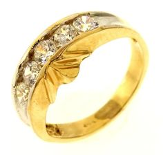 3.4 Gram 14kt Yellow Gold Ring With Colorless Stones http://www.propertyroom.com/l/34-gram-14kt-yellow-gold-ring-with-colorless-stones/9730697