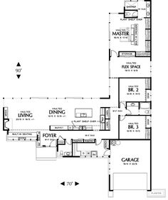 ed6299ef07919e3241a13b9ee6fce633--one-floor-house-plans-l-shaped-house-plans.jpg (736×874)