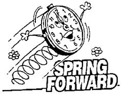 Clip Art Daylight Savings Time Clipart 1000 images about clip art printables on pinterest digital daylight savings time friday march 11 2011