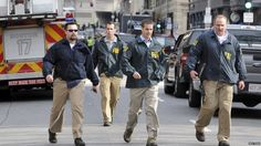 FBI agents at scene of Boston blasts. 15 April 2013  my heart goes out to the dead, the injured and their families... 6 degrees of separation