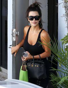 Kim Kardashian Visits the Spa - Kim Kardashian Visits the Spa - Exclusive Kim Kardashian - 4