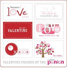 Ultimate Valentine's Printable Round Up / by Busy Mom's Helper for ThirtyHandmadeDays.com #valentines #printables