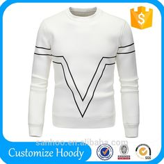 Made in China Mens Crewneck Custom Sweatshirt With Custom Logo