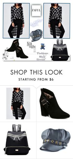 """""""ZAFUL"""" by rilner ❤ liked on Polyvore featuring White Label"""