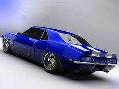 Camaro, Classic Muscle Car from the Golden Age.