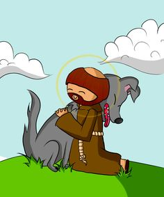 Saint Francis of Assisi by Abiry.deviantart.com